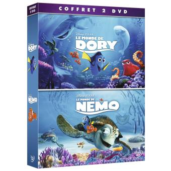 Coffret Le Monde de Dory, Le Monde de Nemo DVD