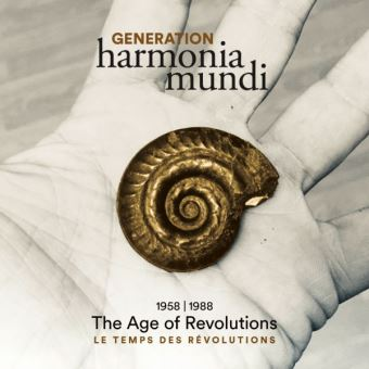 Generation harmonia mundi 1/16CD