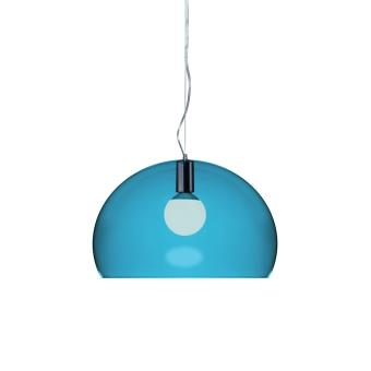 lampe suspendre fly kartell bleu petrole achat prix fnac. Black Bedroom Furniture Sets. Home Design Ideas