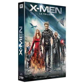 X-MenCoffret X-Men La trilogie DVD