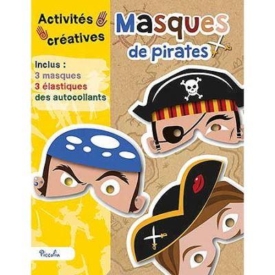 Masques de pirates