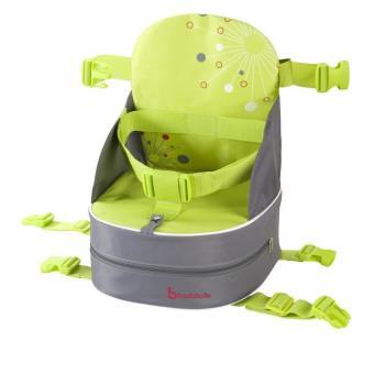 Rehausseur nomade badabulle gris et vert achat prix fnac - Rehausseur de chaise enfant ...