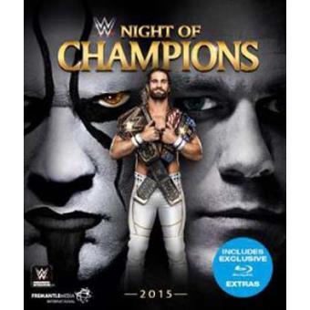 WWE Night of Champions 2015 Blu-ray
