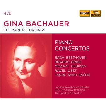 EDITION RARE RECORDINGS PIANO CONCERTOS/4CD