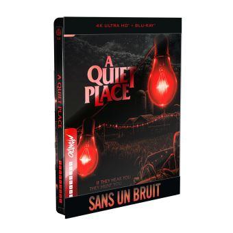 Sans un bruitSans un bruit Steelbook Blu-ray 4K Ultra HD