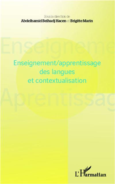 Enseignement, apprentissage des langues et contextualisation