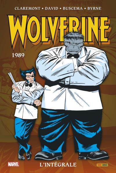 Wolverine :L'intégrale T02 (1989) NED