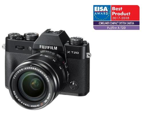 Fujifilm X-T20 Zwart+ XF 18-55mm f/2.8-4.0 R LM OIS