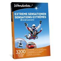 Coffret cadeau Wonderbox Sensations extrêmes