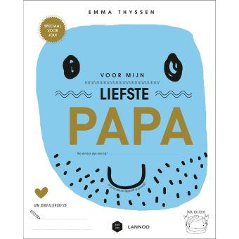 Nieuw Voor mijn liefste papa - gekartonneerd - Mama Baas, Emma Thyssen KW-84