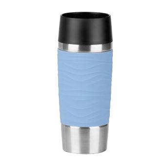 Emsa Travel Mug Waves 0.36L Isoleerbeker Blauw