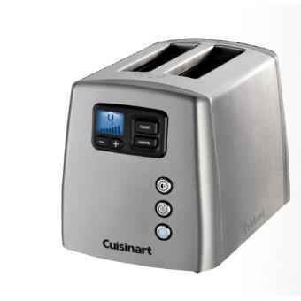 Toaster 2 tranches motorisé Cuisinart CPT420E