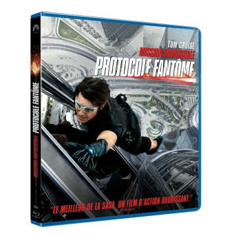 Mission : Impossible  Les FilmsMission Impossible : Protocole fantôme Blu-Ray