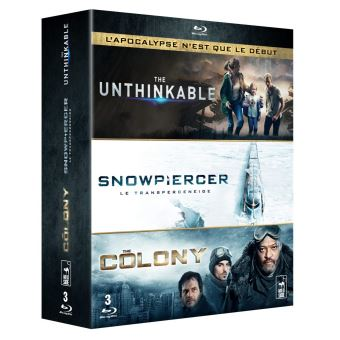Coffret Anticipation 3 Films Blu-ray
