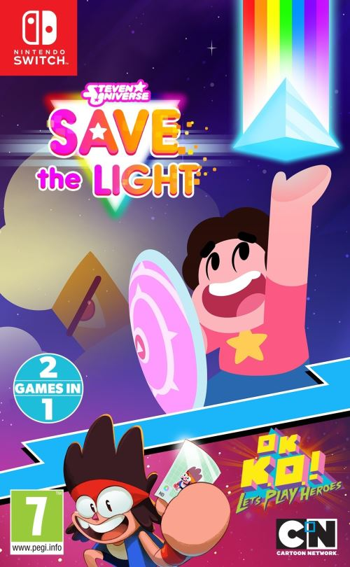 Steven Universe La menace lumineuse OK K.O. ! Nintendo Switch