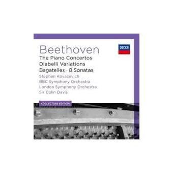 Klavierkonzerte/Diabelli Variationen/8 Sonaten