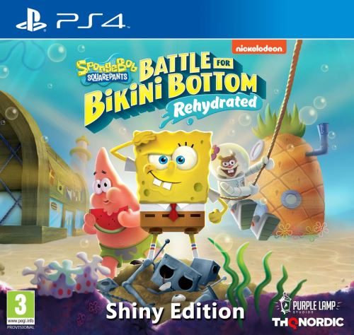 SpongeBob SquarePants Battle for Bikini Bottom Rehydrated Shiny Edition PS4