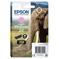 Cartouche d'encre Epson Série Eléphant 24 - Magenta Clair