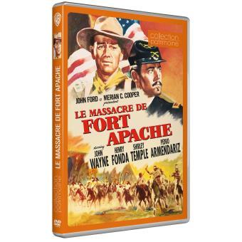 Le massacre de Fort Apache - DVD