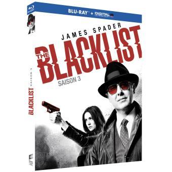 The BlacklistThe Blacklist Saison 3 Blu-ray