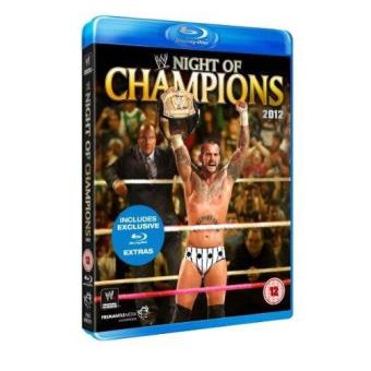 WWE Night of Champions 2012 Blu-ray