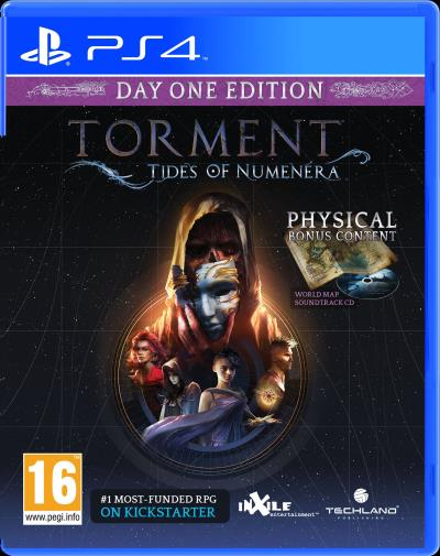 Torment Tides of Numenera Edition Day One PS4