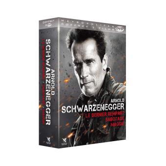 Coffret Arnold Schwarzenegger 3 films DVD