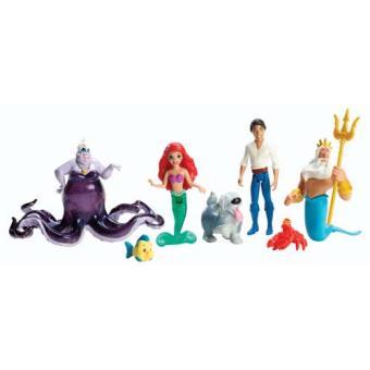 Disney princesses coffret figurines ariel mattel poup e achat prix fnac - Jeux de ariel et son prince ...