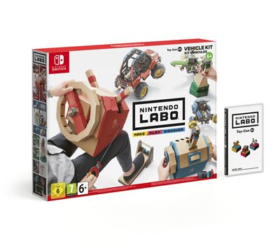 Toy-Con 3 Kit véhicules Nintendo Labo pour Nintendo Switch