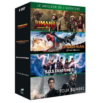 JumanjiCoffret Le Meilleur de l'aventure DVD