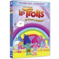 Coffret Trolls en avant la musique Saisons 3 et 4 DVD