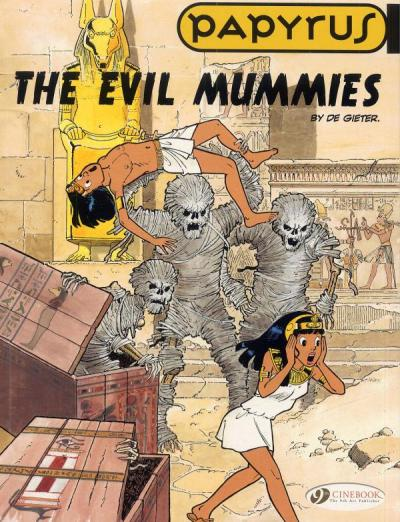 Papyrus - tome 4 The evil mummies