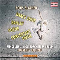 Dance suite/hamlet/poeme/concertant music