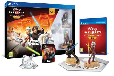 Pack de démarrage Disney Infinity 3.0 Star Wars PS4