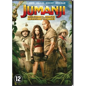 Jumanji:Welcome to the jungle (UV)-BIL