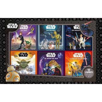 Star Wars Coffret Avec 12 Livres Episodes Iv V Vi Vii Star Wars Coffret 12 Livres