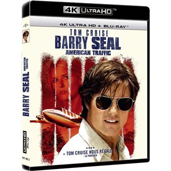 Barry Seal : American Traffic Blu-ray 4K + Blu-ray