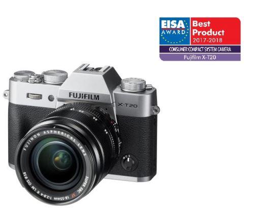 Hybride Fujifilm X T20 Botier Nu Objectif XF 18 55 Mm F28 4 R LM OIS Argent Partir De 680 EUR 10 Offres Disponibles