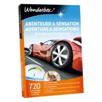 Coffret cadeau Wonderbox Aventure et sensations