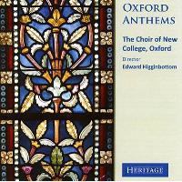 Oxford anthems