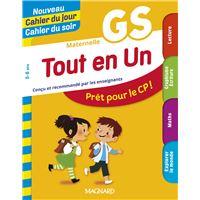 Nouveau Cahier du jour Cahier du soir Tout en un maternelle GS