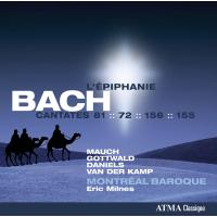 Epiphanie - Cantates sacrées volume 5 - Montréal baroque