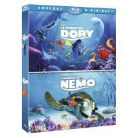 Coffret Le Monde de Dory, Le Monde de Nemo Blu-ray