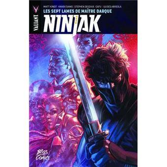 NinjakLes sept lames de maître Darque