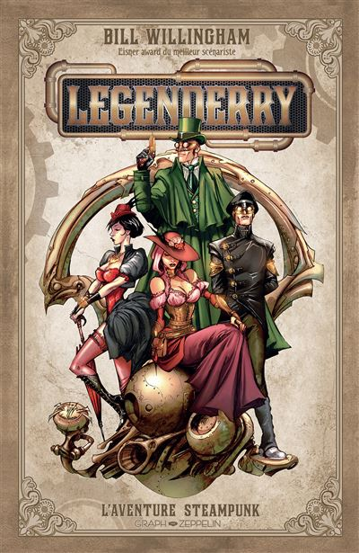 Legenderry - L'aventure steampuk