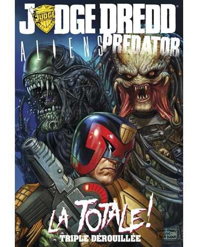 Judge Dredd vs. Aliens vs. Predator : La Totale !