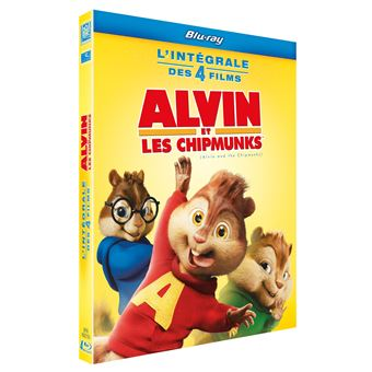 Alvin et les ChipmunksAlvin et les Chipmunks L'intégrale de 1 à 4 Coffret Blu-ray