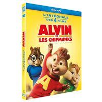 Alvin et les Chipmunks L'intégrale de 1 à 4 Coffret Blu-ray