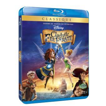 Fée ClochetteClochette et la fée pirate Blu-ray