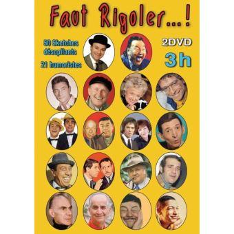Faut Rigoler ! 50 Sketches désopilants 21 Humoristes DVD